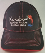 Black/Red Kokabow Hat