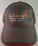Graphite/Red Kokabow Hat